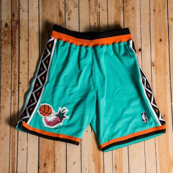 Beauty Ticks Mitchell & Ness - 1996 Authentic Shorts All-star Teal/orange/white