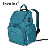 Teal - Large Capacity Baby Diaper Backpack