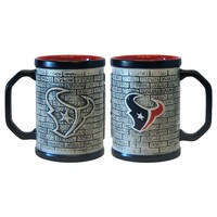 Houston Texans 2-pc. Stonewall Coffee Mug Set