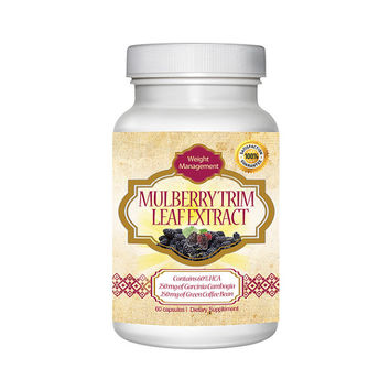 Totally Products White Mulberry Leaf Extract Weight Loss Support Supplement 60 Capsules - weight loss support supplement