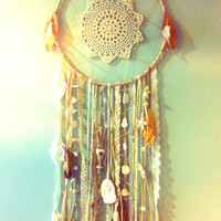 CUSTOM ORDER 10 inch Sea Dreamer Mermaid Dreamcatcher similar to shown, your choice