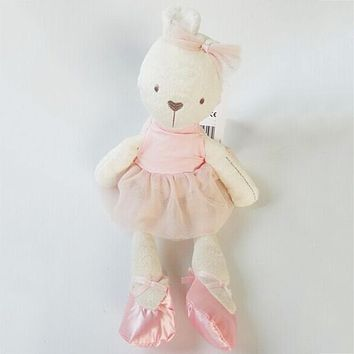 Cute 42cm Large Soft Rabbit Stuffed Animal Bunny Toy Baby Girl Kid Pets 2016 New Arrive Fashion For Baby