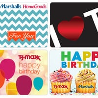 Gift Cards - T.J.Maxx