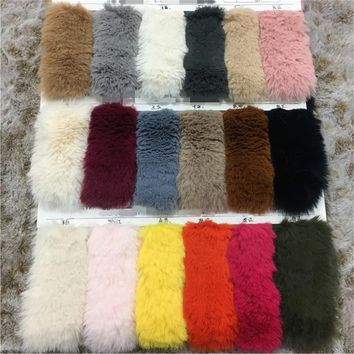 80cm*160cm 20MM Hight Faux rabbit hair High grade plush faux fur fabric for winter coat faux rabbit hair cloth tissue for DIY