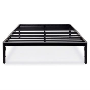 Full Size 18-inch High Rise Heavy Duty Metal Platform Bed Frame