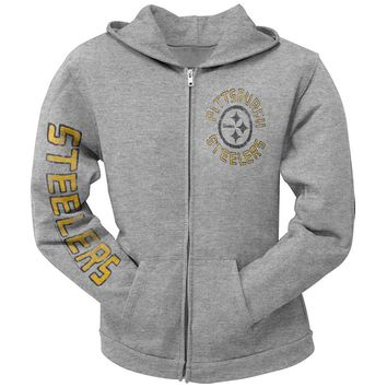 Pittsburgh Steelers - Sunday Juniors Zip Hoodie