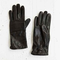 Moto Two-Tone Leather Glove