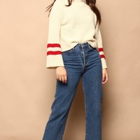 Lost + Wonder Mulberry Sweater
