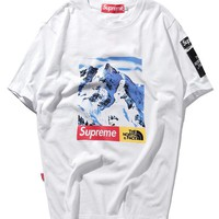 Cheap Women's and men's supreme t shirt for sale 501965868-0143