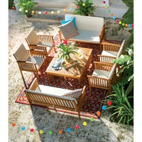Juliette 8 Piece Seating Group with Cushion