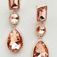 Dazzling Rose Gold Earrings
