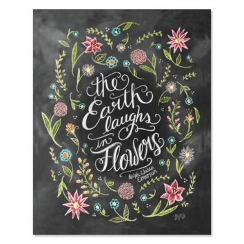 The Earth Laughs in Flowers - Print & Canvas