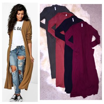 Long Duster Cardigan