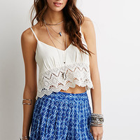 Abstract Geo Print Shorts