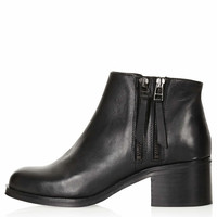 ARK Double Zip Ankle Boots