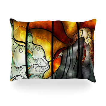 "Mandie Manzano ""Expecto Patronum"" Harry Potter Oblong Pillow"