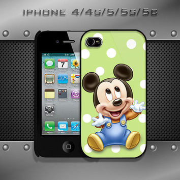 mickey mouse design case for iphone 4/4s, iphone 5, iphone 5s, iphone5c