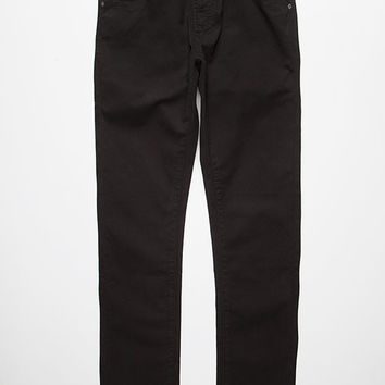 Rvca Daggers Twill Pants Black  In Sizes