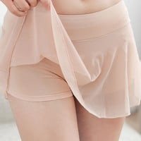 2016 new arrival women slips sexy girl lace wear pant liner slips female underwear safety shorts pants high quality WQ152