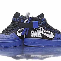 Boys x Nike SF Air Force 1 Mid QS High-Tops Man Sports Shoes H-PSXY