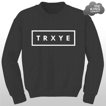 TRXYE Jumper Sweater Music Sweatshirt Tumblr by TheKingConcept