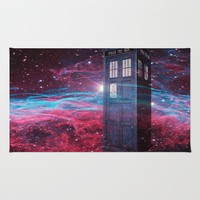 Dr Who police box  Rug by Store2u