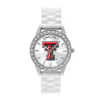 Game Time Watch - Women's Frost Series Texas Tech Red Raiders (White)