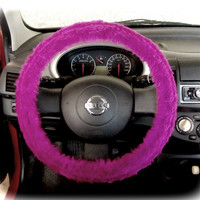 by (CoverWheel) Steering wheel cover for wheel car accessories Hot Violet