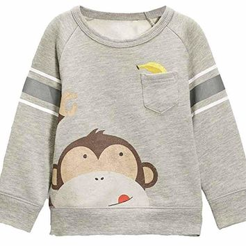 SASsy Tees Monkeying Around Sweatshirt