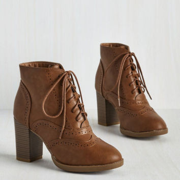 Scholastic Mashup to the Minute Bootie in Taupe