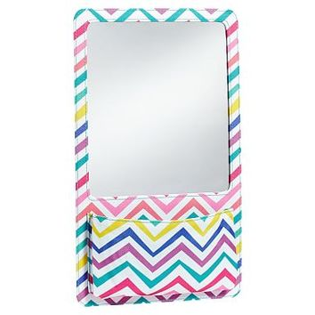 Gear-Up Multi Chevron Locker Mirror Pocket