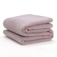 The Original Vellux Blanket - Twin, Soft, Warm, Insulated, Pet-Friendly, Home Bed & Sofa - Plum Rose