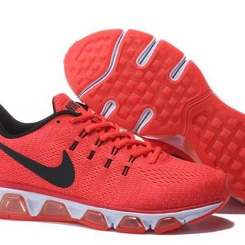 Nike Air Max Tailwin Red & Black Print Sneakers Running Shoes For Men