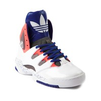 Womens adidas Good Luck Charm Athletic Shoe, White Blue Pink, at Journeys Shoes
