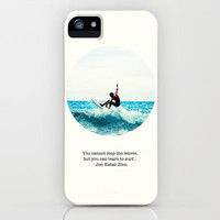 Learn To Surf iPhone & iPod Case by YingDude