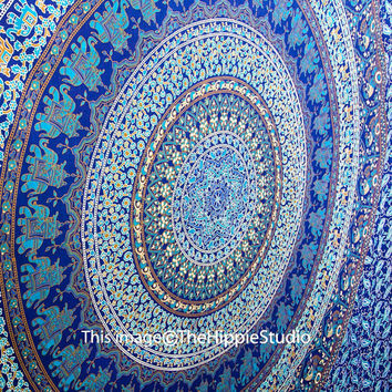 Hippie Tapestries, Tapestry Wall Hanging, Mandala Tapestries, Wall Tapestries, Bohemian Tapestries, Dorm Decor, Dorm Bedding, Beach Blanket