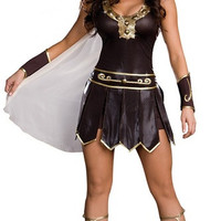 Halloween costume of ancient Greek myth Greek god of war female warrior costume party costumes uniform temptation = 1946567236