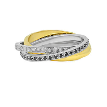 Triple Rolling Band Ring