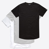 Elwood 3 Pack Mens Tall Tees Multi  In Sizes