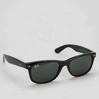Ray-Ban New Wayfarer Black Sunglasses- Black One