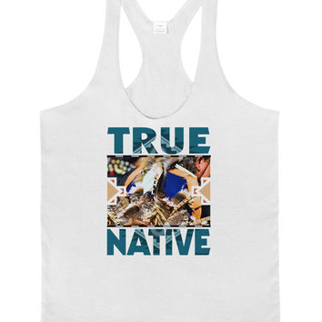 True Native American Mens String Tank Top