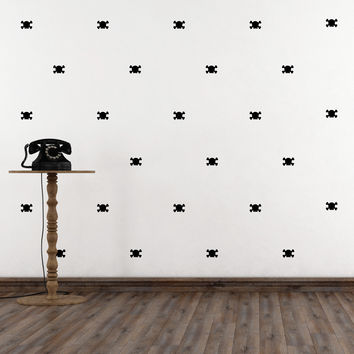 Skull Mini-Pack Wall Decals