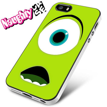 Monsters University Mike Wazowski iPhone 4s iphone 5 iphone 5s iphone 6 case, Samsung s3 samsung s4 samsung s5 note 3 note 4 case, iPod 4 5 Case