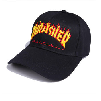 Thrasher Baseball cotton cap Hat