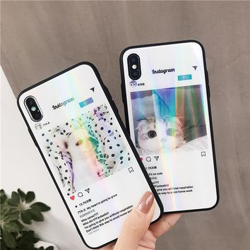 Insta iPhone Case For iPhone XS XR XS Max X 6 7 8 Plus XR