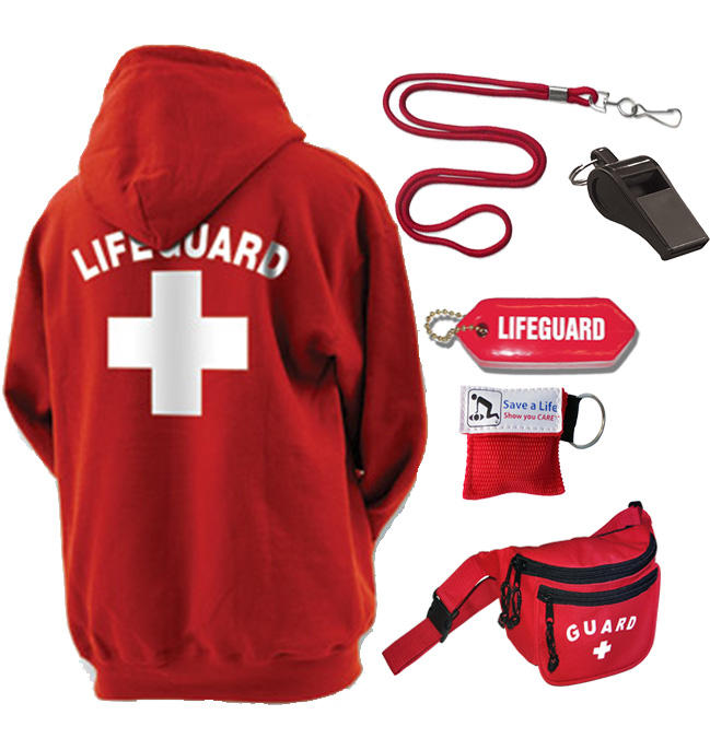 Lifeguard Package With Hoodie Guard From