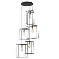 Lazy Susan Box Pendant Cluster | New Lighting | What's New! | Candelabra, Inc.