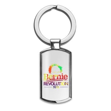 Political Revolution  Premium Stainless Steel Key Ring| Enjoy A Unique  & Personalized Key Hanger To Carry Your Keys W/ Style| Custom Quality Prints| Household Souvenirs By Styleart
