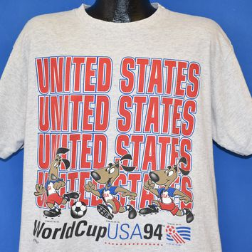 90s United States World Cup 1994 t-shirt Extra Large