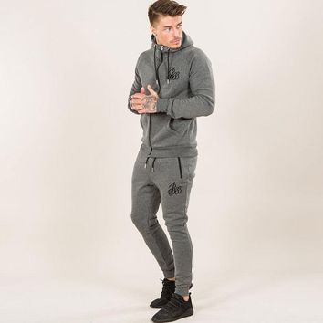 Mens Track Suit 2 PCS Suit Pants Jackets Mens Suits Wear Jogger Clothes For Men Exercise Clothing Set Fitness Boys Clothes Suit